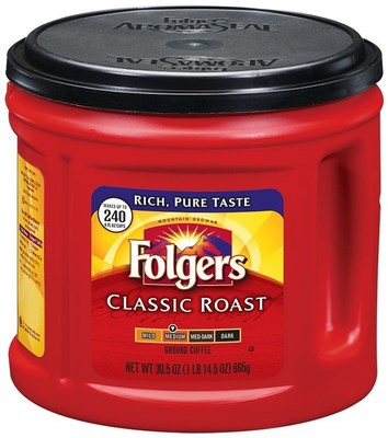Folgers Packaged Coffee