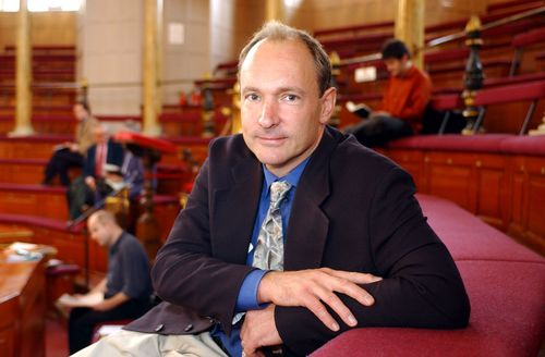 Sir Tim Berners-Lee, inventor of the World Wide Web, founder of the World Wide Web Foundation and World Wide ...