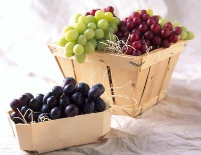 Fresh California Grapes.  (PRNewsFoto/California Table Grape Commission)
