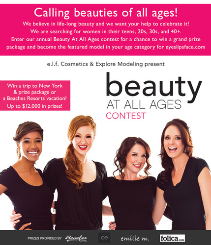 e.l.f. Cosmetics is back at it with their fourth annual nationwide model search