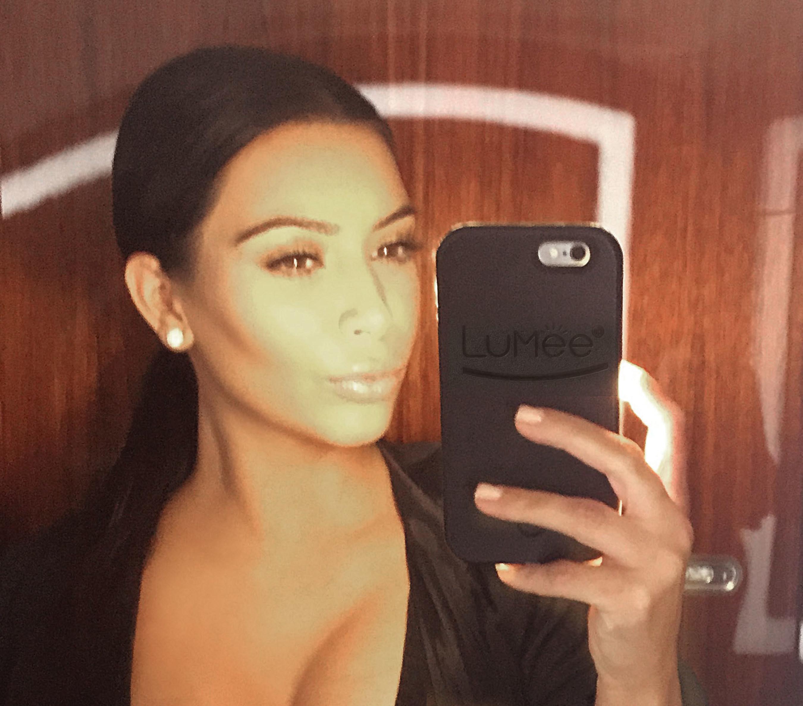 LuMee Case and Kim Kardashian West