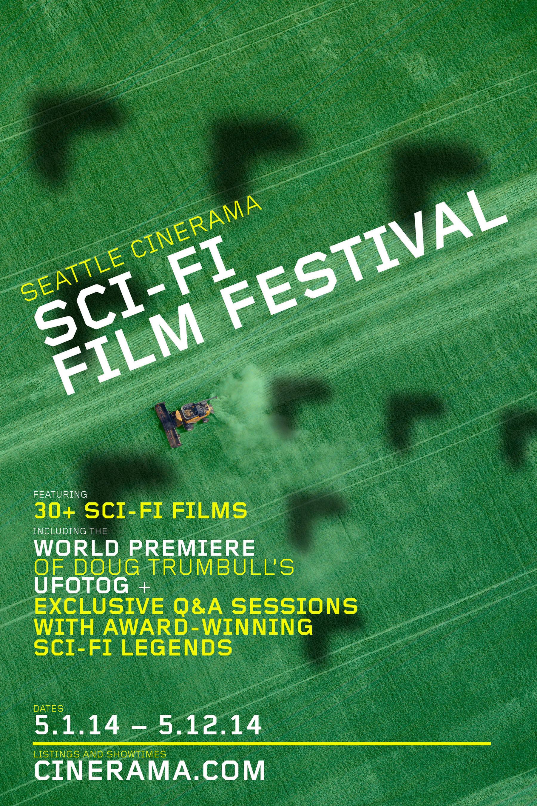 Seattle Cinerama Sci-Fi Film Festival including world premiere of UFOTOG. (PRNewsFoto/Seattle Cinerama Theater) (PRNewsFoto/SEATTLE CINERAMA THEATER)