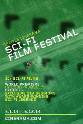 Seattle Cinerama Sci-Fi Film Festival including world premiere of UFOTOG.  (PRNewsFoto/Seattle Cinerama Theater)