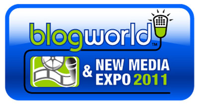 Aisha Tyler and Rick Fox Join Today's BlogWorld L.A. Keynote Talk Show with Jace Hall, iJustine and Tim Street