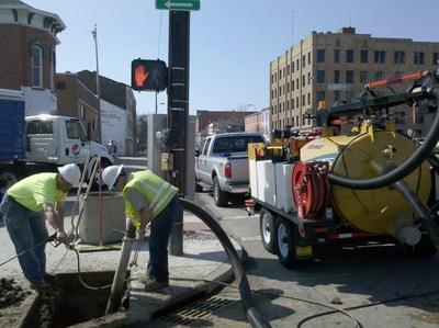 Vac-Tron Equipment using vacuum excavation for safe digging.