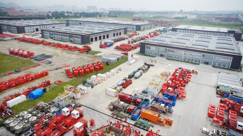 Jereh Industrial Park in Yantai, China.  (PRNewsFoto/Yantai Jereh Oilfield Services Group Co., Ltd.)