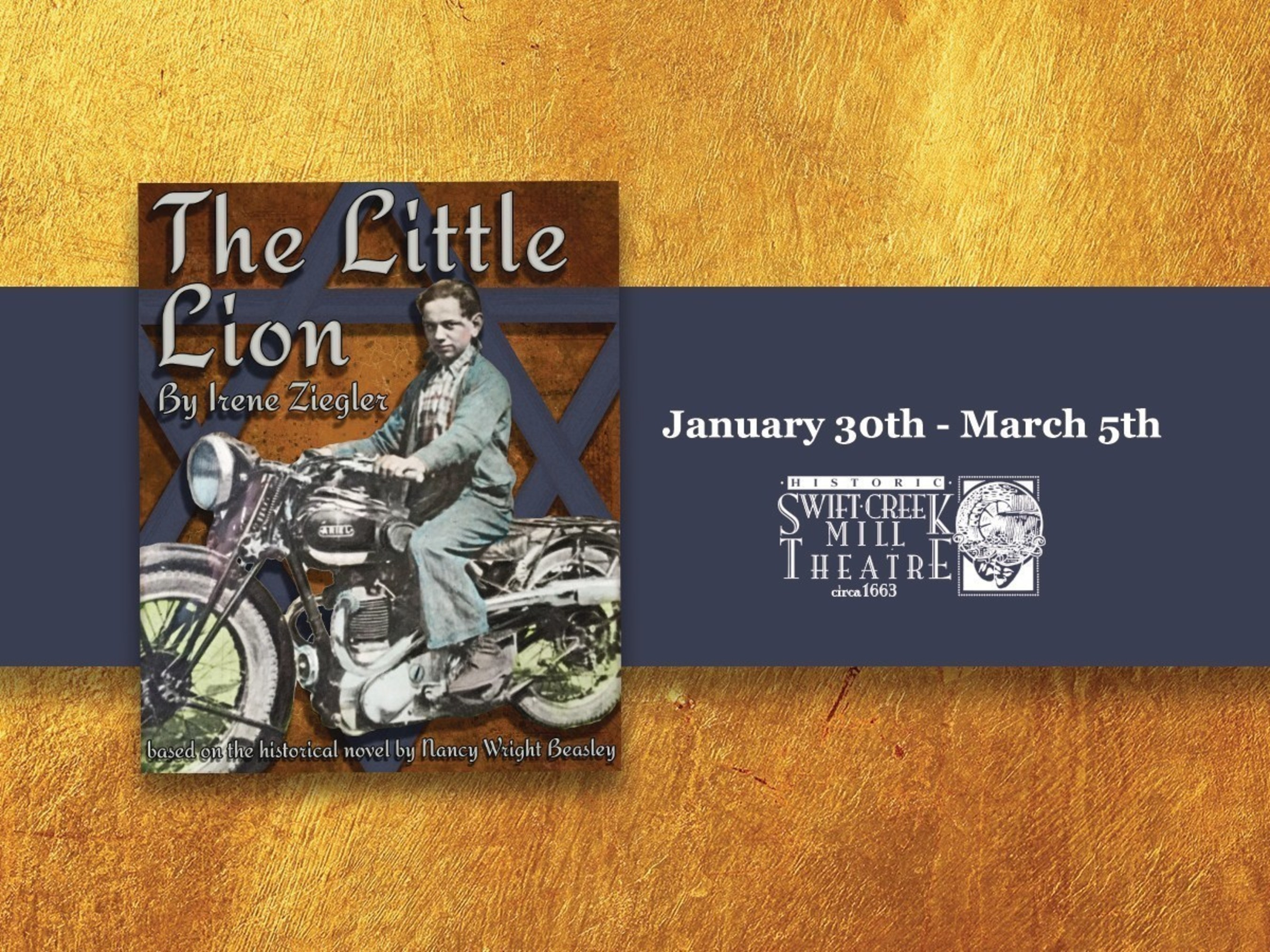 Swift Creek Mill Theatre Hosts the World Premiere of The Little Lion on Saturday, January 30th