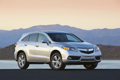 Hot selling and Award-winning RDX goes on sale.  (PRNewsFoto/Acura)