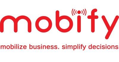 Mobify Logo (PRNewsFoto/Mobify Technology Solutions) (PRNewsFoto/Mobify Technology Solutions)