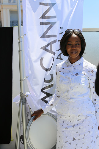 H.E. Mrs. Toyin Saraki of Nigeria, a leading advocate for the U.N.'s Every Woman Every Child effort and Founder-President of the Wellbeing Foundation Africa.  (PRNewsFoto/McCann Health)