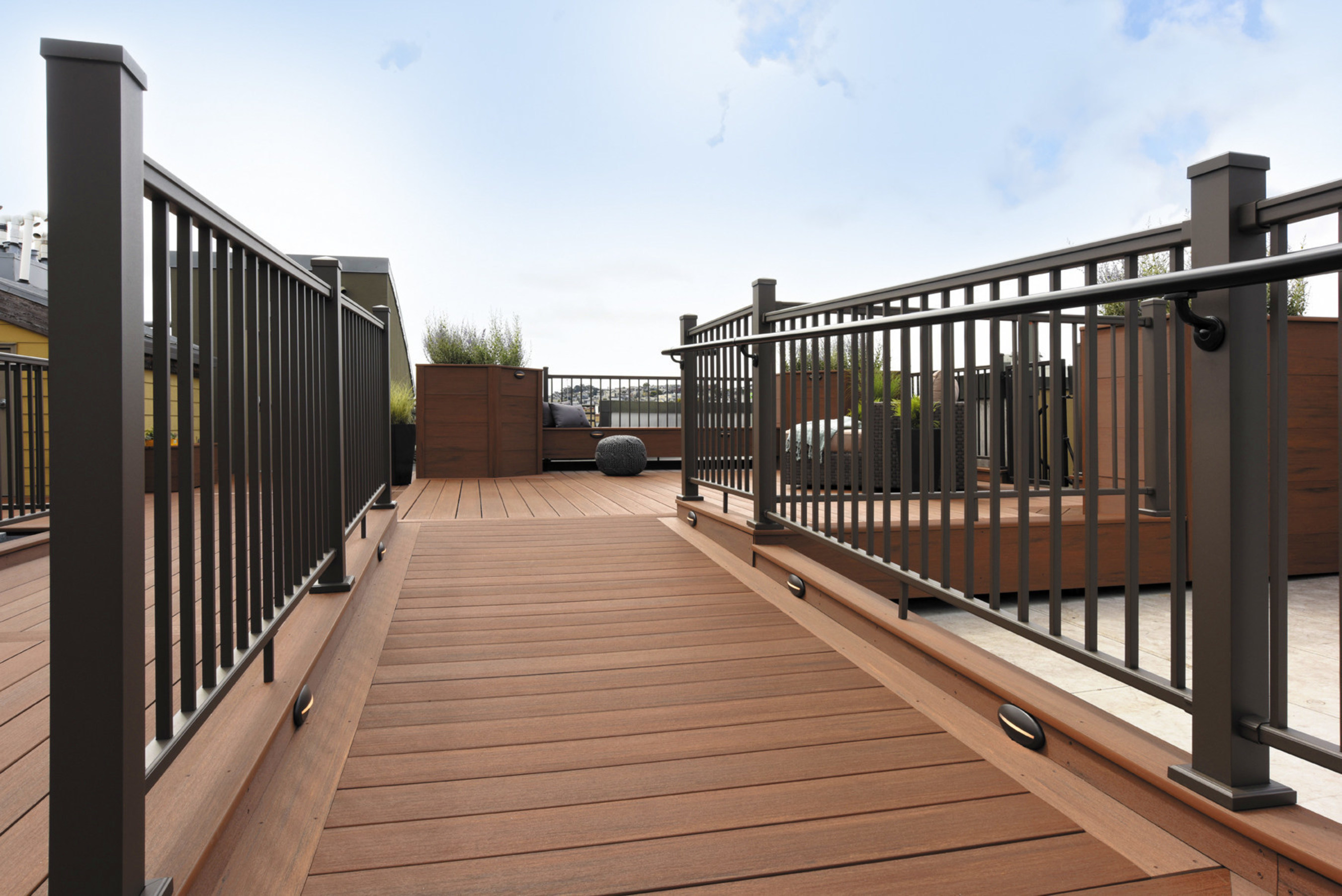 Recently launched Impression Rail(TM) featured in the new textured Bronze color option