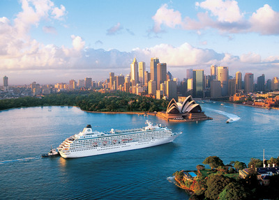 Among Crystal's upcoming cruises is a 2012 holiday cruise featuring the world's biggest New Year's Eve fireworks in Sydney, Australia.  (PRNewsFoto/Crystal Cruises)