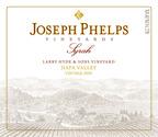 2009 Joseph Phelps Syrah, Larry Hyde & Sons Vineyard label.  (PRNewsFoto/Joseph Phelps Vineyards)