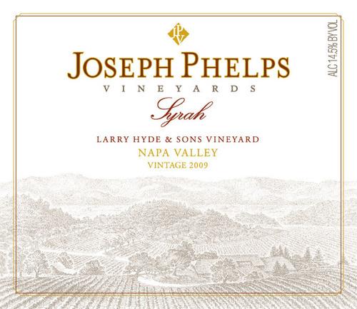 Joseph Phelps Vineyards Releases First Vineyard Designate Syrah