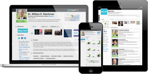 ExpertFile for Organizations. (PRNewsFoto/ExpertFile) (PRNewsFoto/EXPERTFILE)