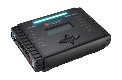 The CRU WiebeTech Ditto DX Forensic FieldStation, its fastest remote digital forensic imaging appliance to date, doubling the speed of Physical and Logical Imaging of electronic information on hard disk drives and SSDs, network file shares, and media cards.