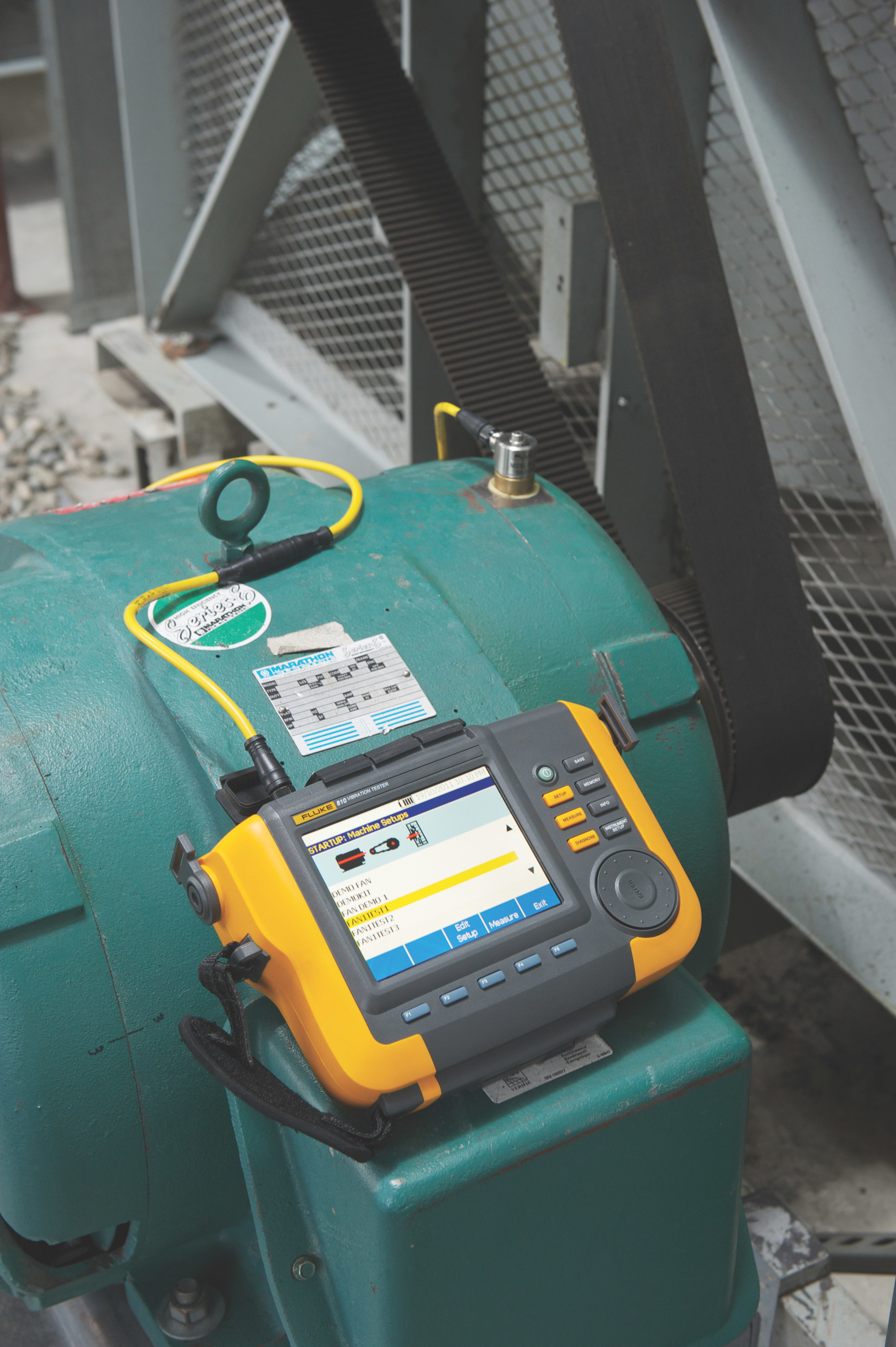 Fluke enhances the 810 Vibration Tester to simplify and speed assessment of machine health
