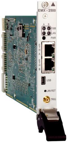 EMX-2500 Gigabit Ethernet Interface. (PRNewsFoto/VTI Instruments) (PRNewsFoto/VTI INSTRUMENTS)