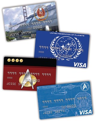 Four new Star Trek Platinum Advantage Rewards Credit Cards from NASA Federal Credit Union