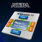Industry's first heterogeneous SiP device that integrates HBM2 DRAM with an FPGA.