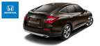 The unique styling of the Honda Crosstour sets it apart from other vehicles in the crossover SUV segment.  (PRNewsFoto/Benson Honda)