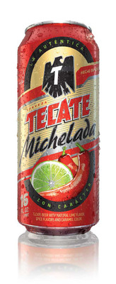 The Authentic Tecate Michelada Launches in the U.S.  (PRNewsFoto/Tecate)