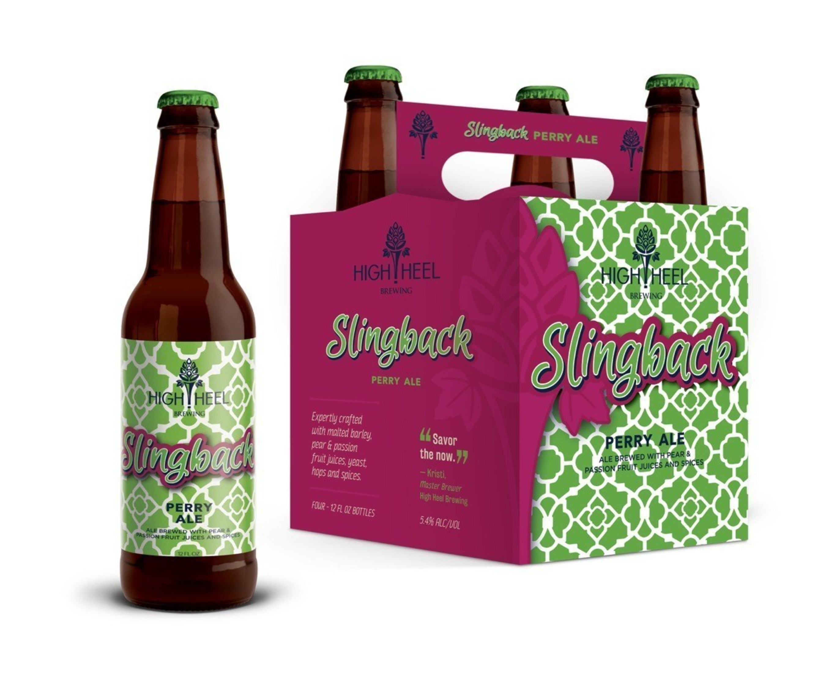 Slingback Perry Ale by High Heel Brewing. Photo Credit: High Heel Brewing.