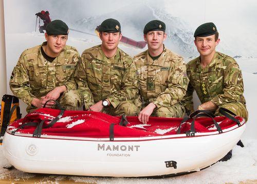 THE MAMONT FOUNDATION UNVEIL THE MAMONT CUP 2015 UK TEAM (PRNewsFoto/MAMONT FOUNDATION)