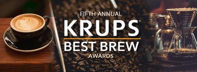KRUPS Kicks Off 5th Annual Best Brew Awards