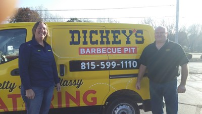 Dickey's Barbecue Pit opens Thursday in Rockford