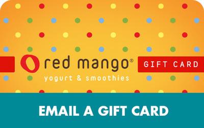 The new Red Mango eGift Card.
