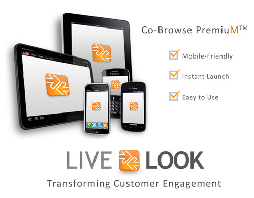 LiveLOOK, the leading developer of visual collaboration tools for customer service, has launched a new ...