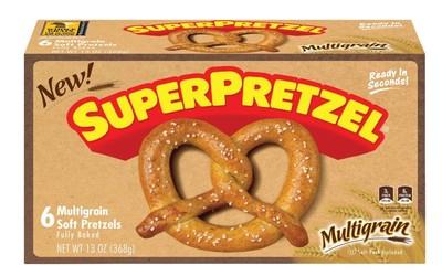 SUPERPRETZEL Multigrain Soft Pretzels