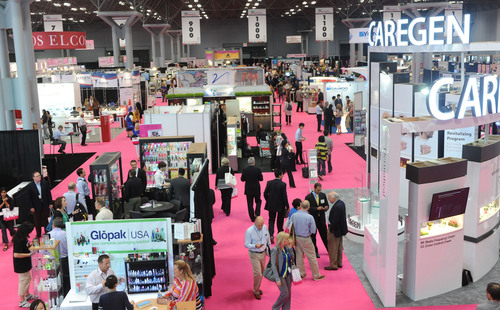 HBA Global, the largest product development event for the cosmetics, fragrance, personal care, and skin care industries is now taking place at the Javits Center in New York.  The beauty community is coming together to source, learn, and network.  www.hbaexpo.com #HBA2013 #beauty.  (PRNewsFoto/HBA Global)