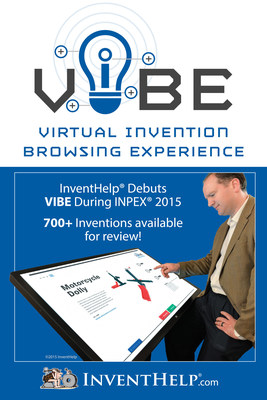 VIBE allows business attendees at INPEX to view inventions on large, state-of-the-art virtual viewing stations.