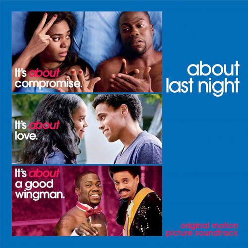 Columbia Records To Release About Last Night Soundtrack Available Digitally On February 11th And In Stores March 4th. (PRNewsFoto/Columbia Records) (PRNewsFoto/COLUMBIA RECORDS)