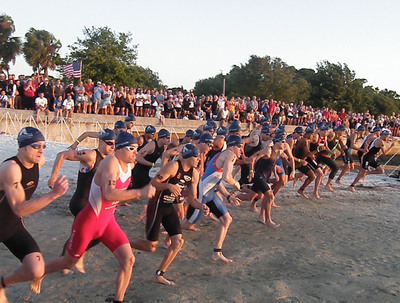 St. Anthony's Triathlon has changed its swim course location for its 2012 race. The new course location is shown in this photo.  (PRNewsFoto/BayCare Health System)