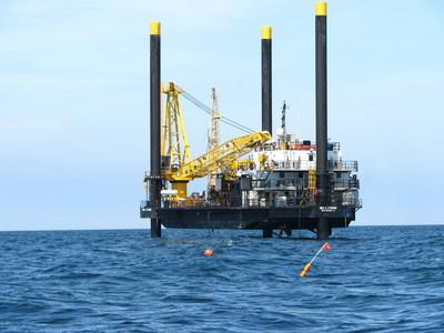 Dominion Using Research Vessel to Collect Data for Offshore Wind Turbines. (PRNewsFoto/Dominion)