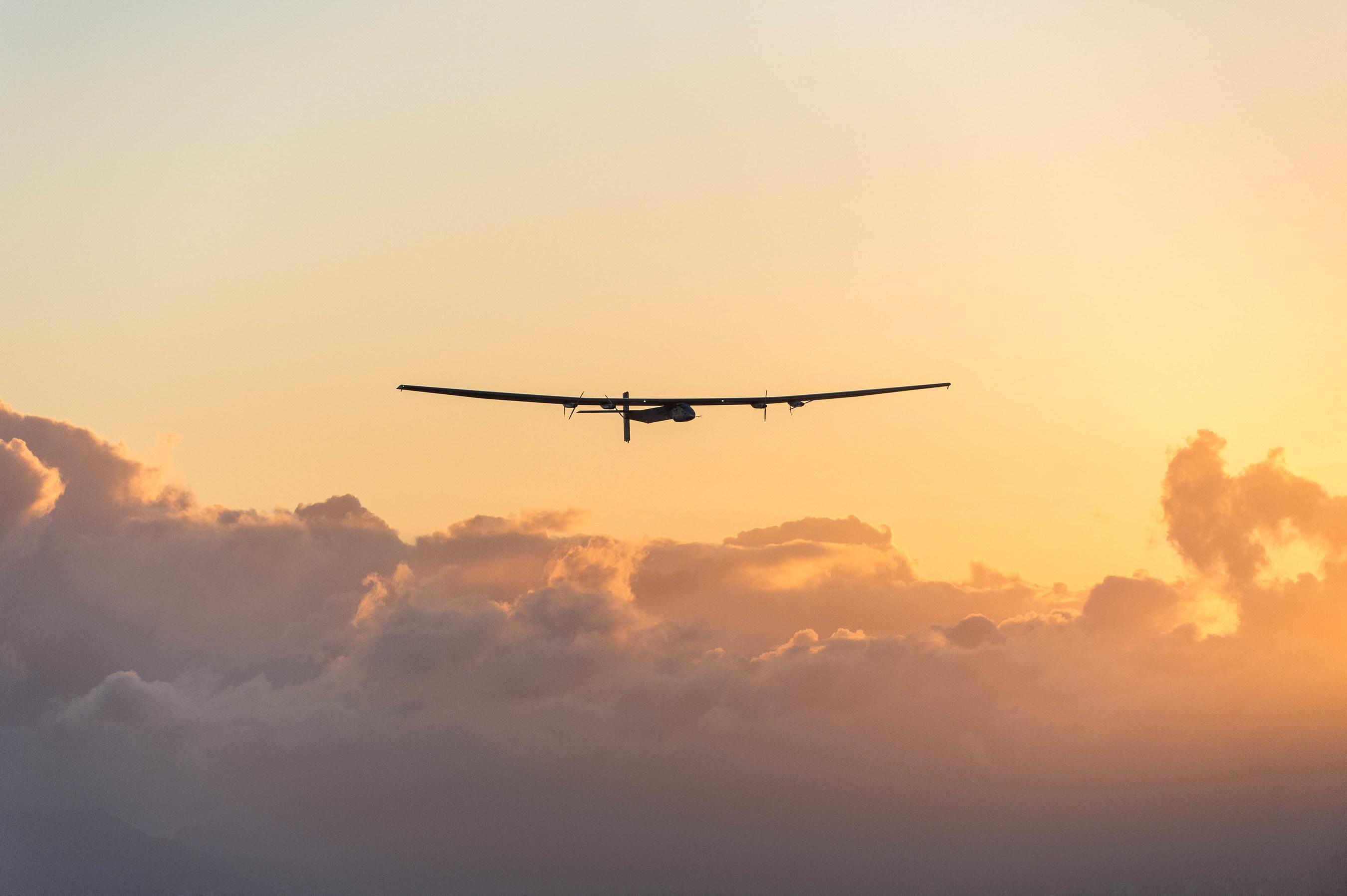 Solar Impulse test flight over Hawaii