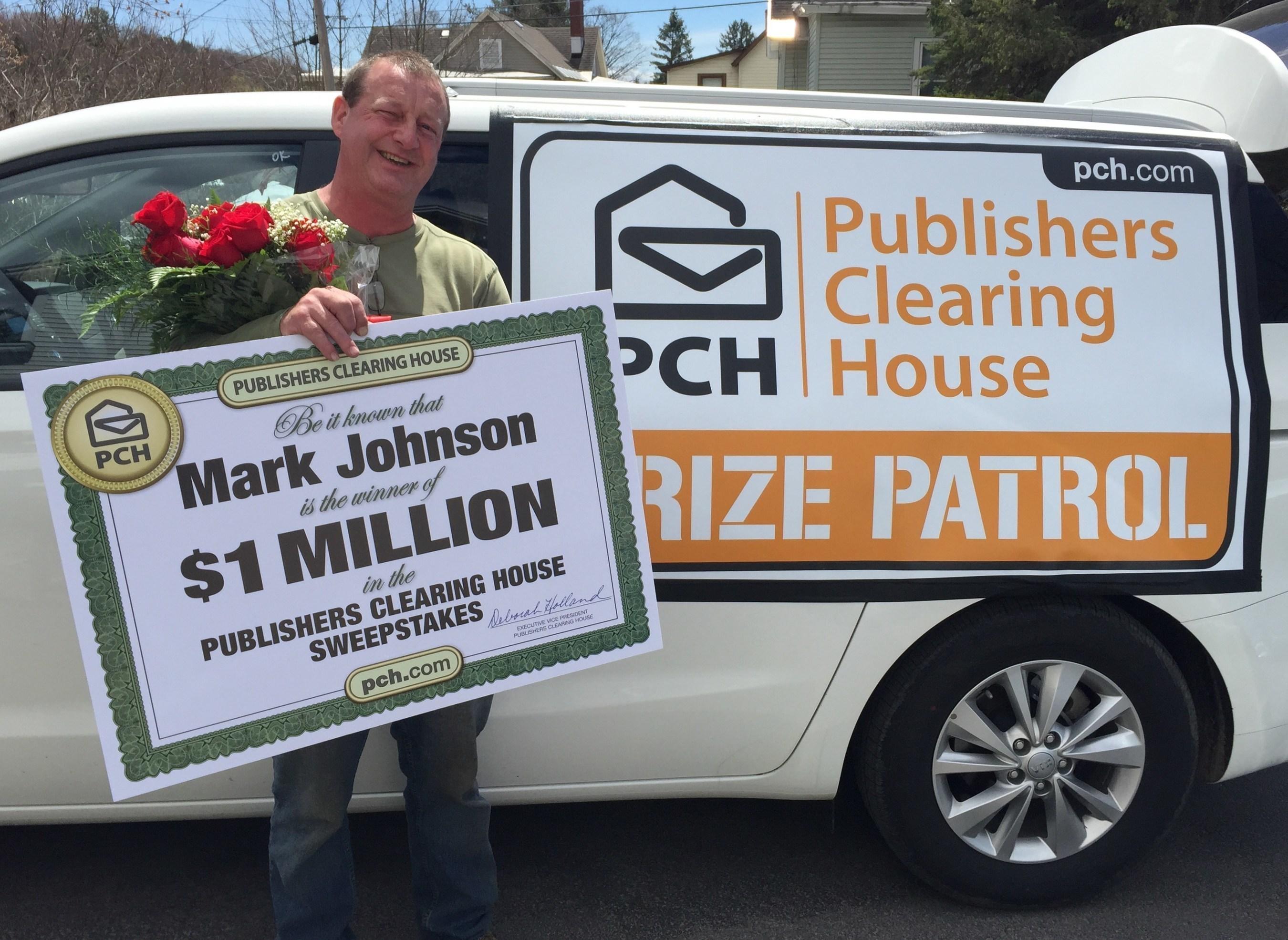 $1,000,000 winner Mark Johnson of Dolgeville, NY!