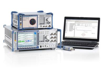 R&S CMW500 wideband radio communication tester. (PRNewsFoto/Rohde & Schwarz) (PRNewsFoto/ROHDE & SCHWARZ)