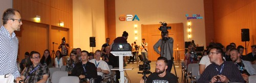 G2A CEO explains G2A Direct,  a world-first for developers at Gamescom 2016 (PRNewsFoto/G2A.com)