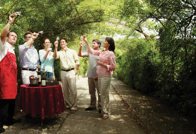 A vineyard wine tasting on a Silversea Cruises shore excursion educates participants in the art of winemaking.