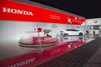 Honda Display at the 2015 North American International Auto Show features the HondaJet, FCV Concept, past and new Honda Formula 1 cars and more