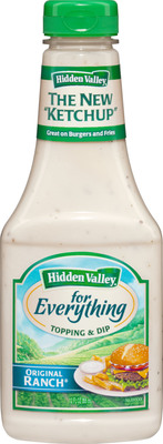 Hidden Valley for Everything Topping & Dip.  (PRNewsFoto/Hidden Valley)