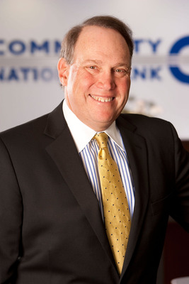 Stuart Lubow, Chairman, President & CEO.  (PRNewsFoto/Community National Bank)