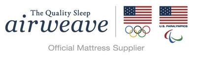 airweave and Team USA triposite logo