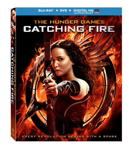 The Hunger Games: Catching Fire Blu-ray Combo Pack available on 3/7/14.(PRNewsFoto/Lionsgate) ...
