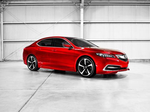 2015 Acura TLX Prototype unveiled at North American International Auto Show 1-14. (PRNewsFoto/Acura) ...
