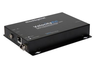 Thinklogical Velocity-3 Fiber Optic Scaling Receiver.   (PRNewsFoto/Thinklogical LLC)
